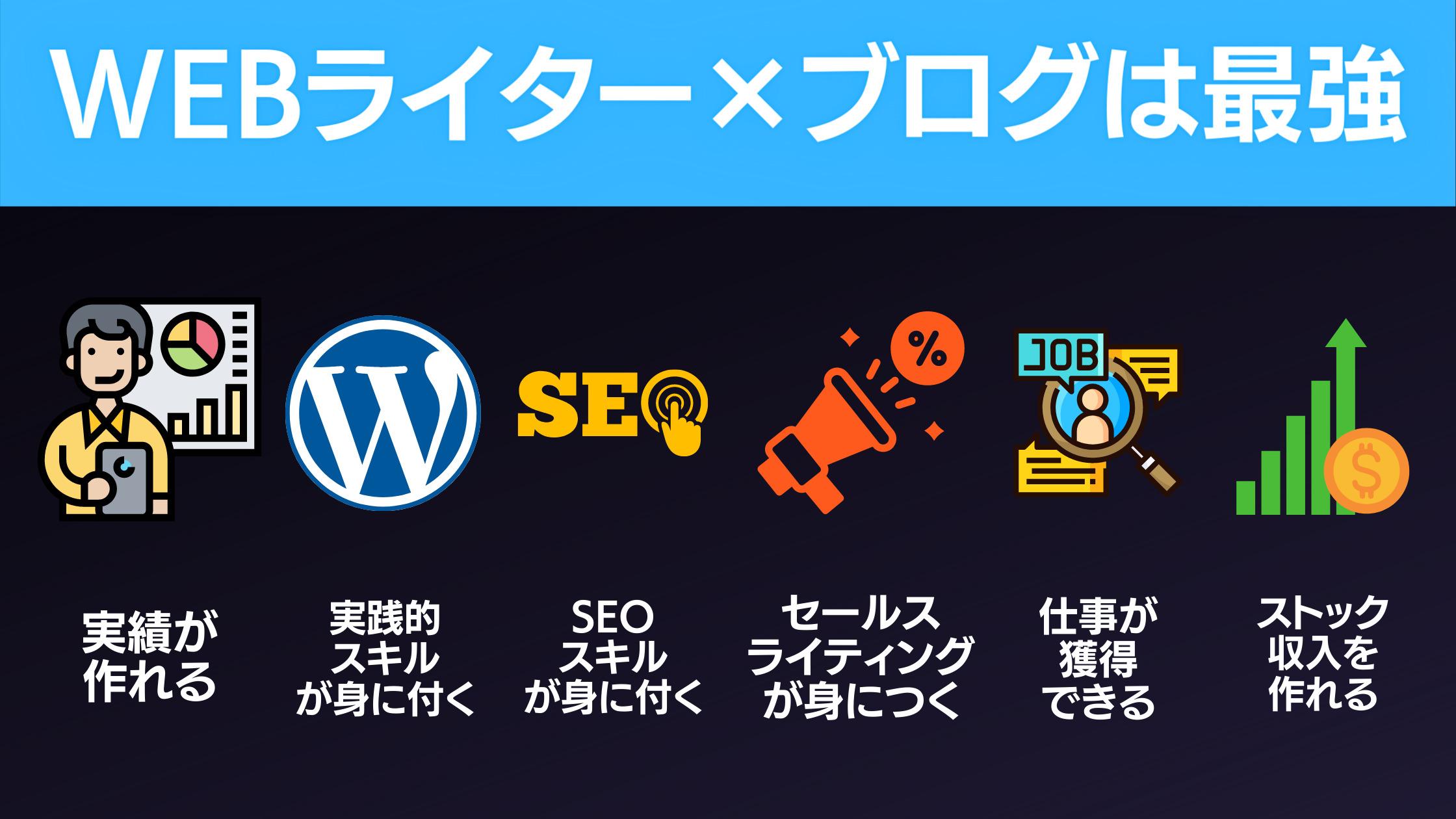 WEBライターにブログをおすすめする理由6選